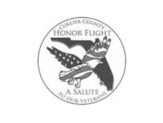 Collier County Honor Flight Logo - MBI Charters
