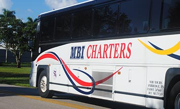 Charter Bus Rental Fort Myers to Orlando - MBI Charters