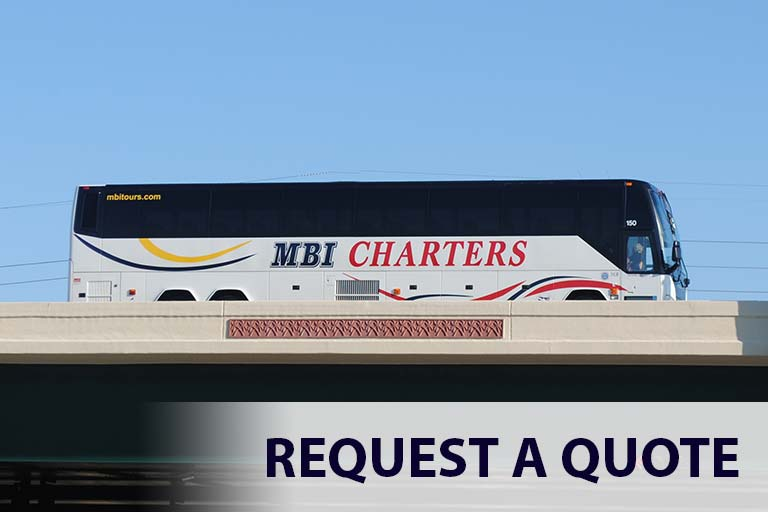 Request a Quote for Charter Bus Rental- MBI Charters