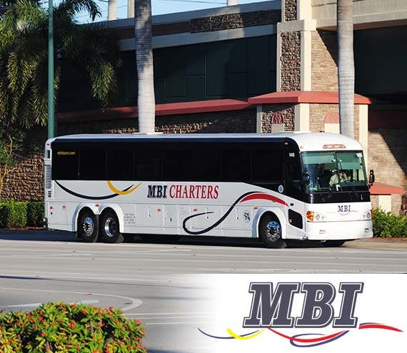 MBI Charters Bus Transportation in Southwest Florida - MBI Charters
